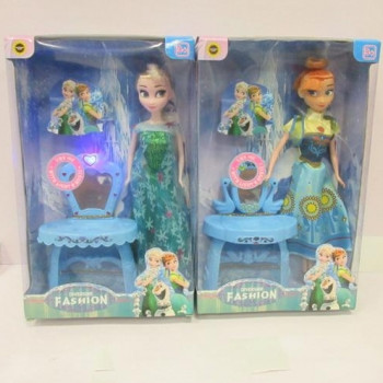 "Кукла ""Frozen Fever "" 829-317 2 вида, с трюмо, свет, звук, в кор."