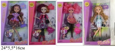 Кукла EVER AFTER HIGH 23см 8036B с аксес.4в.кор.24*5,5*16 ш.к./120/
