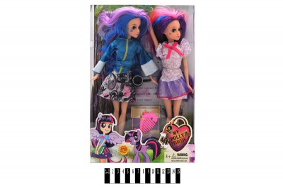 "Кукла ""Ever After High"" с аксесс. 2 шт. в кор. 33*22*6,5 см. /60-2/"