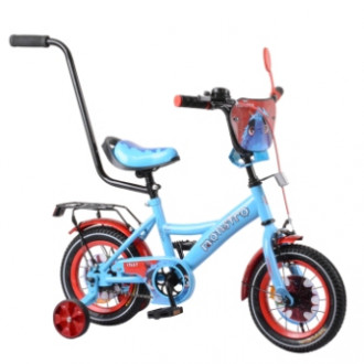"Велосипед TILLY Monstro 12"" T-21228 blue + red /1/"