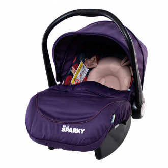 Автокресло TILLY Sparky T-511 Indigo Purple группа 0+ кор.ш.к./6/