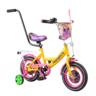 "Велосипед TILLY Monstro 12"" T-212210 yellow + pink /1/"