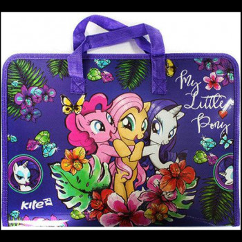 Портфель A4 KITE Little Pony №LP17-202-01