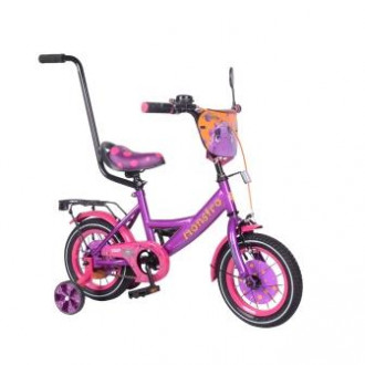 "Велосипед TILLY Monstro 12"" T-212211 purple+pink /1/"