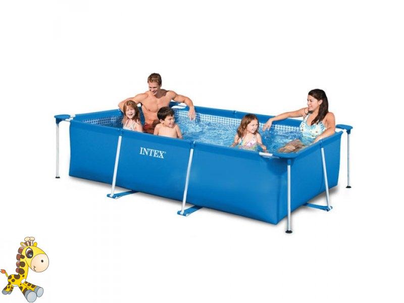 выбор каркасного бассейна для семьи
