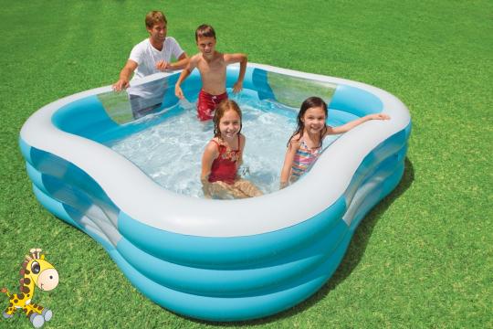 выбор надувного бассейна для детей